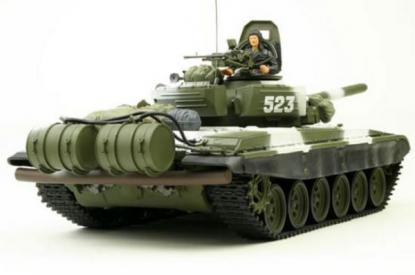 Танк VSTANK PRO Russian Army Tank T72 M1 1:24 IR (Winter Camouflage RTR Version)