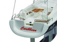 Парусная яхта Joysway Caribbean 1/46 0,26 м 2.4GHz (Red RTR Version)-фото 2
