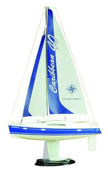 Парусная яхта Joysway Caribbean 1/46 0,26 м 2.4GHz (Blue RTR Version)