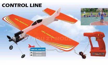 Самолет Basic Plane кордовый