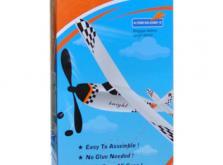 Самолет Knight с резиномотором-фото 1