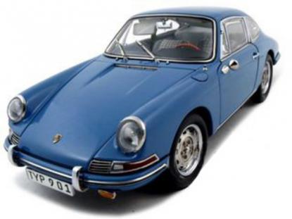 Коллекционная модель автомобиля СMC Porsche 901 1964 1/18 Sky Blue Limited Edition