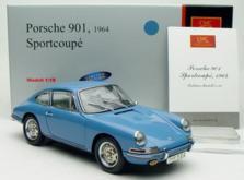 Коллекционная модель автомобиля СMC Porsche 901 1964 1/18 Sky Blue Limited Edition-фото 4