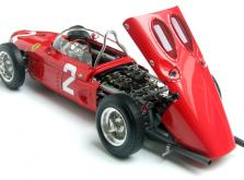 Коллекционная модель автомобиля СMC Ferrari 156 F1 1961 Sharknose #2 Hill/Monza 1/18 Limited Edition-фото 7