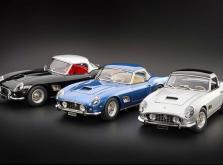 Коллекционная модель автомобиля СMC Ferrari 250GT California SWB Spyder 1961 1/18 Black-фото 5