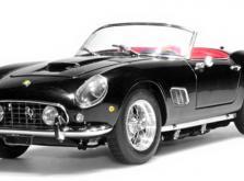 Коллекционная модель автомобиля СMC Ferrari 250GT California SWB Spyder 1961 1/18 Black-фото 10