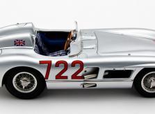 Коллекционная модель автомобиля СMC Mercedes-Benz 300 SLR W196S Mille Miglia Sieger #722 1955 1/18-фото 2