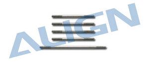 Align Набор таг T-REX 250 H25057 (нержавеющая сталь)