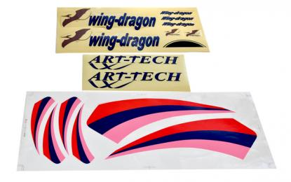 Art-Tech Набор наклеек для Wing Dragon Slow Flyer