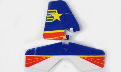 Art-Tech Хвоcт и руль высоты для Yak-54