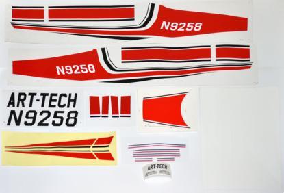 Art-Tech Наклейки Cessna 182 (500 class)