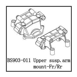 BSD Racing Передний и задний остовы подвески