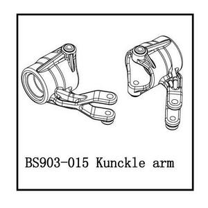 BSD Racing Рулевые кулаки левый/правый