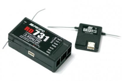JR RD731 Приемник 7СН DSMJ 2.4GHz