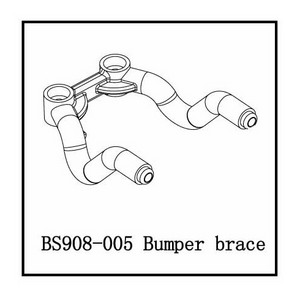 BSD Racing Стойка бампера