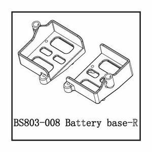 BSD Racing Держатель батареи (правый)