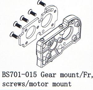 BSD Racing Стойка двигателя