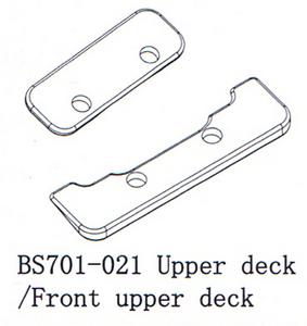 BSD Racing Верхние передние пластины