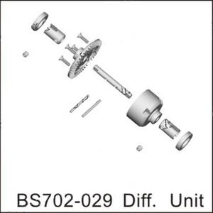 BSD Racing Блок дифференциала BS702T