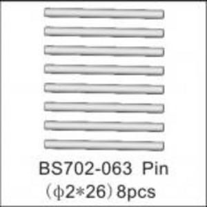 BSD Racing Штифт 2x26 мм 8 шт BS702T