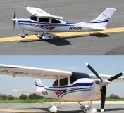 Радиоуправляемый самолёт Cessna 182 RTF 2,4Ghz-фото 1