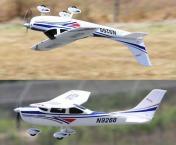 Радиоуправляемый самолёт Cessna 182 RTF 2,4Ghz-фото 3