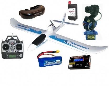 Радиоуправляемый самолет Floater Jet RTF для полета по камере (FPV) со всем необходимым