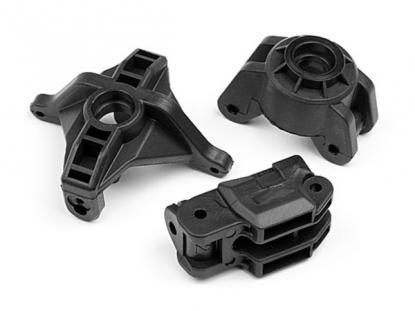 HPI Racing Поворотные кулаки и задние кронштейны ( 2 комплекта)