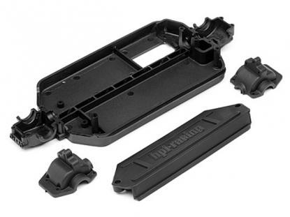 HPI Racing Шасси и крышки редукторов для моделей HPI Mini-Recon.
