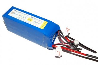 Hyperion Li-Polimer battery G3 CX 22.2V 5000 mAh 6S 25C/45C
