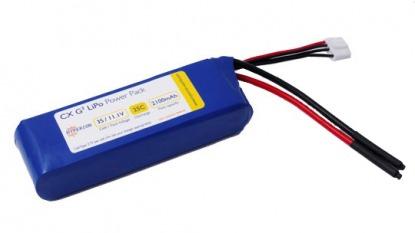 Аккумулятор Hyperion Li-Polimer battery G3 СX 11.1V 2100 mAh 3S 25C/45C HP-LG325-2100-3S