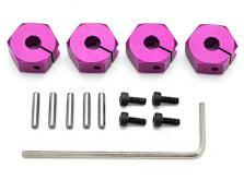HPI Racing Комплект алюминиевых фиксаторов колес 6мм/4шт-фото 1