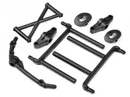 HPI Racing Стойки крепления кузова передние и задние