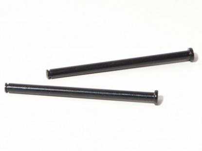 HPI Racing Оси с фланцем рычагов 4х62 мм (черные, 2шт) для HPI Savage