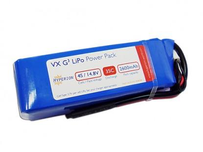 Hyperion Li-Polimer battery G3 VX 14.8V 3300 mAh 4S 35C/65C
