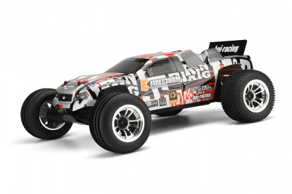 E-FIRESTORM 10T WITH DSX-2 2,4 GHz TRUCK BODY