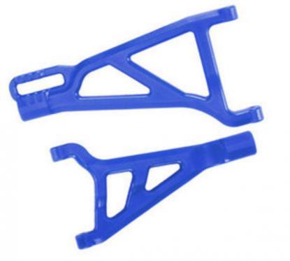 RPM рычаги передние правые нижний и верхний для Traxxas Revo, E-Revo (син)