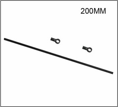 Skyartec Хвостовая тяга 200 мм WASP V4 Belt 250