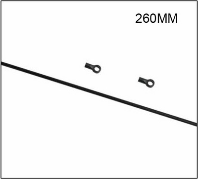 Skyartec Хвостовая тяга 260 мм WASP V4 Belt 250