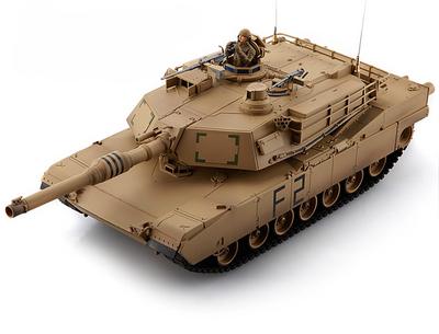 Радиоуправляемый танк M1A2 Abrams Desert Airsoft/JR