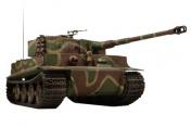 Радиоуправляемый танк German Tiger I LP 1:24  Airsoft /JR (Camouflage RTR Version)-фото 1