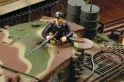 Радиоуправляемый танк German Tiger I LP 1:24  Airsoft /JR (Camouflage RTR Version)-фото 2