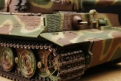 Радиоуправляемый танк German Tiger I LP 1:24  Airsoft /JR (Camouflage RTR Version)-фото 3