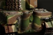 Радиоуправляемый танк German Tiger I LP 1:24  Airsoft /JR (Camouflage RTR Version)-фото 4