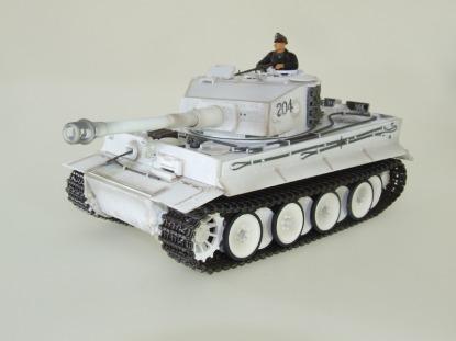Радиоуправляемый танк German Tiger I MP Winter Airsoft