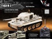 Радиоуправляемый танк German Tiger I MP Winter Airsoft-фото 3