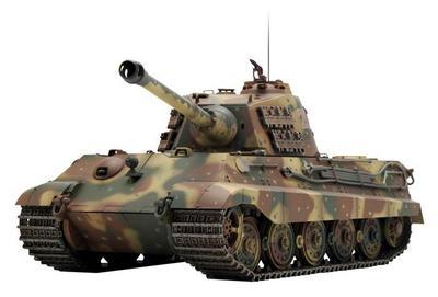 Радиоуправляемый танк German King Tiger 1:24 Airsoft /JR