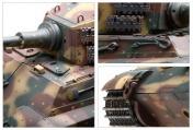 Радиоуправляемый танк German King Tiger 1:24 Airsoft /JR-фото 2