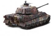 Радиоуправляемый танк German King Tiger 1:24 Airsoft /JR-фото 4