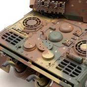 Радиоуправляемый танк German King Tiger 1:24 Airsoft /JR-фото 6